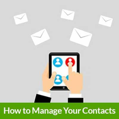 Free Guide to Manage Your Contacts
