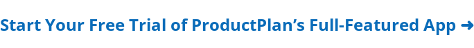 Try ProductPlan for free ➜