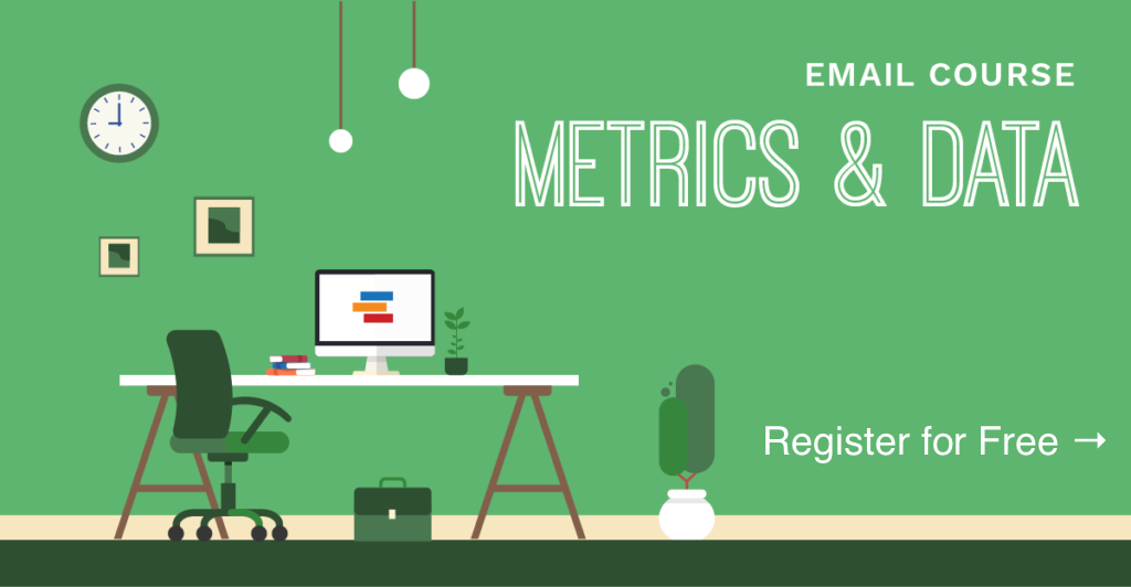 ProductPlan Email Course on Metrics and Data - Register for Free