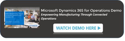 Empowering Manufacturing Through Connected Operations: A Look at Dynamics 365 for Operations