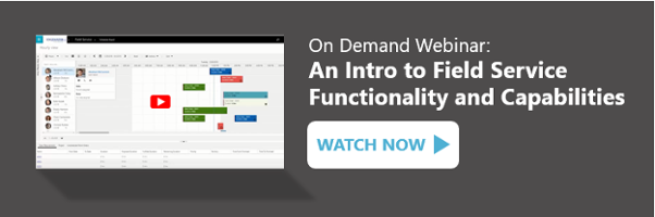 On Demand Webinar: An Intro to Field Service