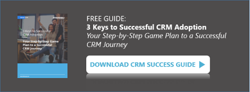 Guide: 3 Keys to Successful CRM Adoption