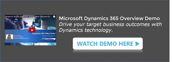 Microsoft Dynamics 365 Customer Engagement Overview and Demo