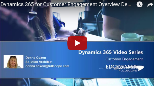 New Dynamics 365 CE Demo