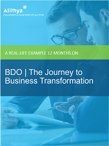 eBook - BDO | The Journey to Business Transformation