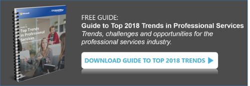 Guide to Top Trends in Professional Services… and their impact on current business models.
