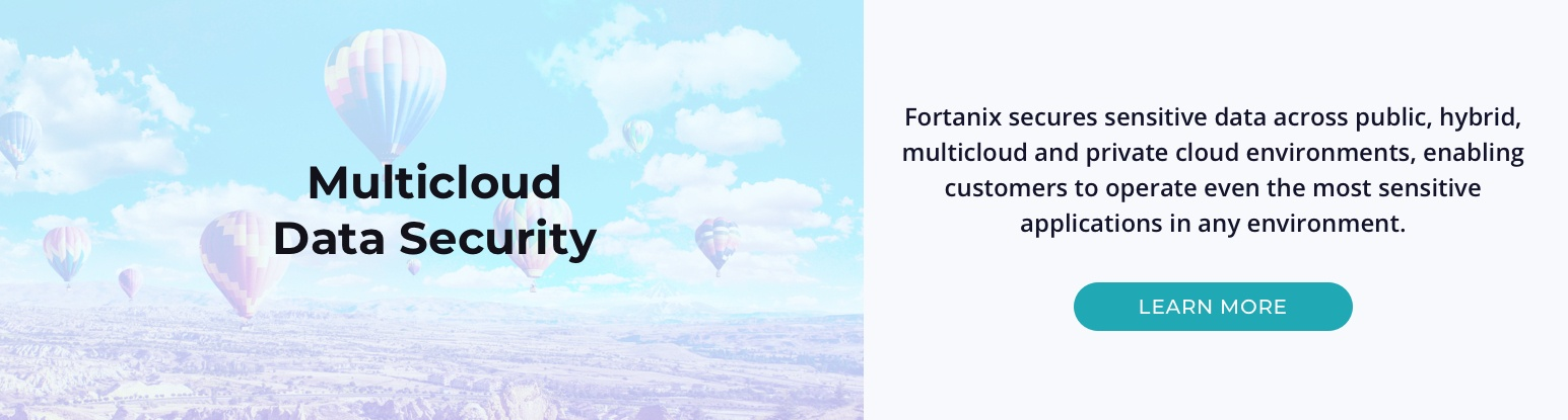 Multi cloud data security
