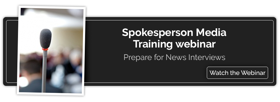 Spokesperson Training Webinar