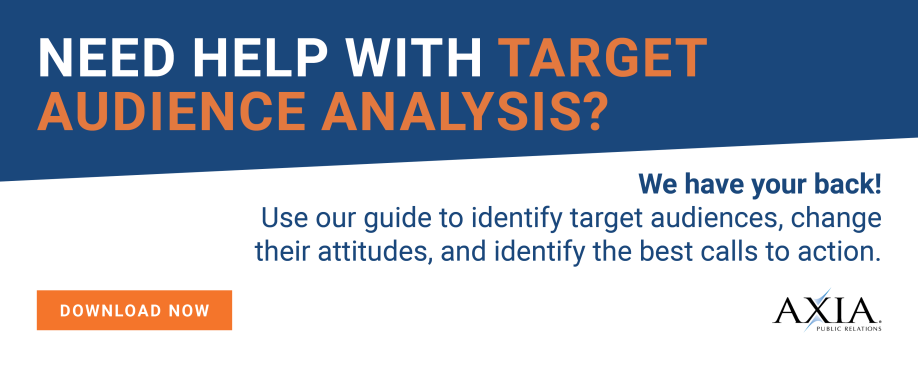 Get your target analysis template for public relations today!