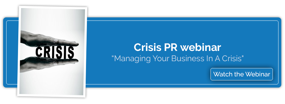 Crisis Management webinar