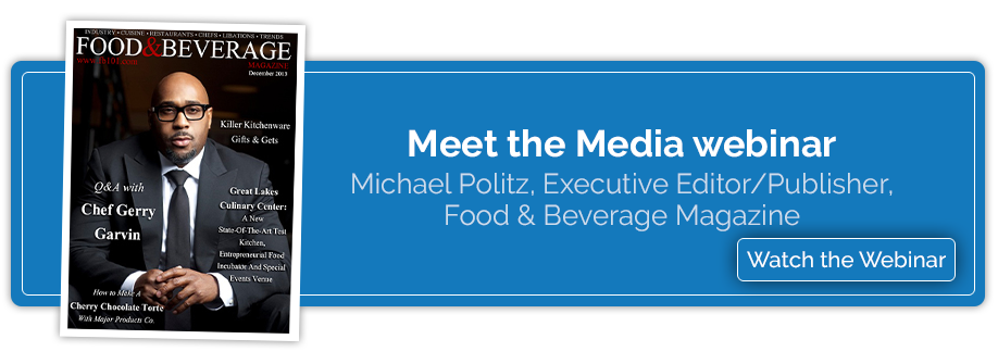Meet the Media - Food & Beverage webinar