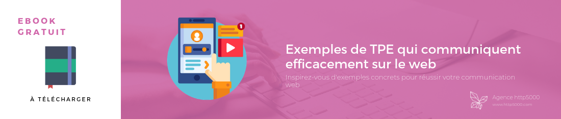 Ebook gratuit  Exemples de TPE qui communiquent efficacement sur le web – rectangle