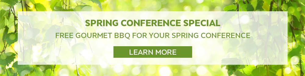 spring conference offer