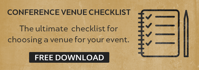 conference venue checklist