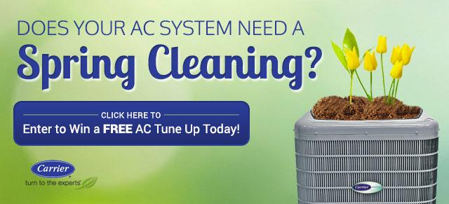 Does Your AC System need a spring cleaning?