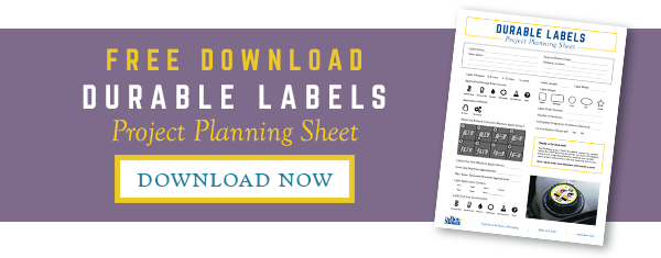 Durable Labels Project Planning Sheet Free Download