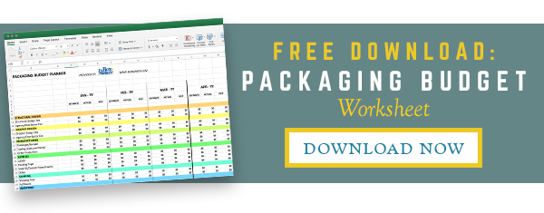 The BoxMaker's Packaging Budget Worksheet