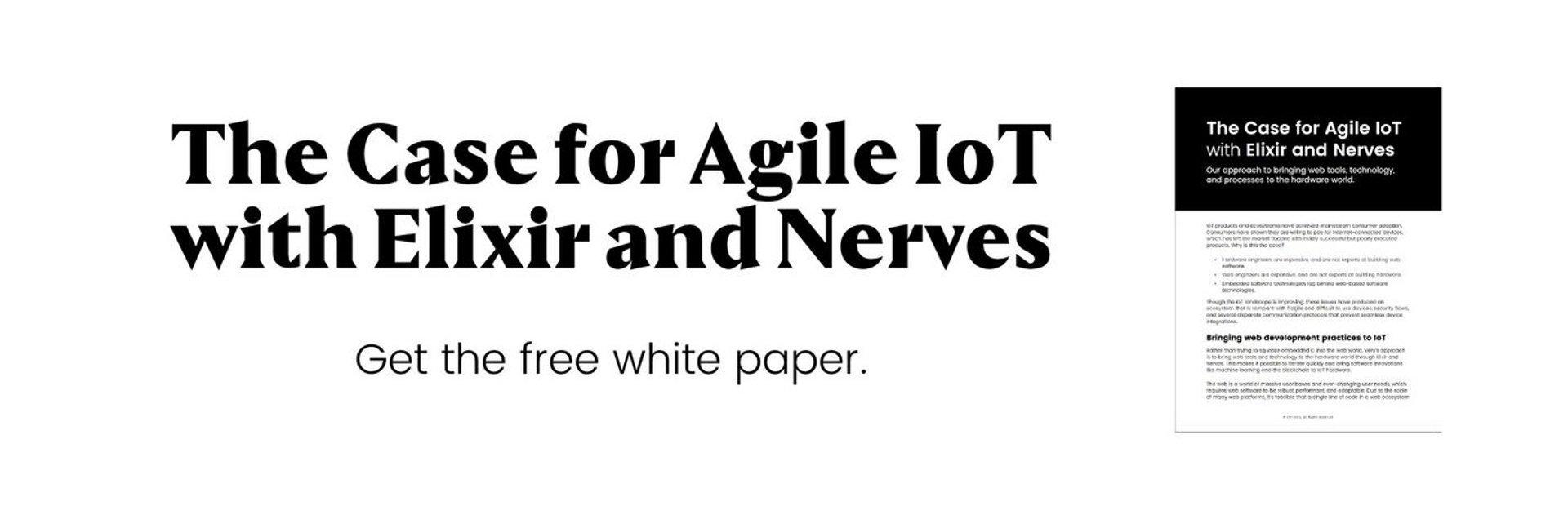agile IoT elixir nerves