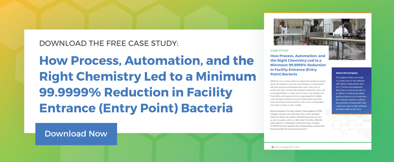 How Process, Automation, and the Right Chemistry Led to a Minimum 99.9999% Reduction in Facility Entrance (Entry Point) Bacteria