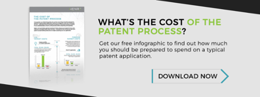 free patent cost infographic download