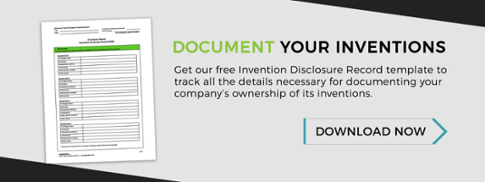 free invention disclosure form download
