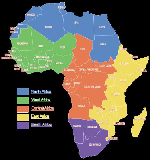 Shop By Regional Map