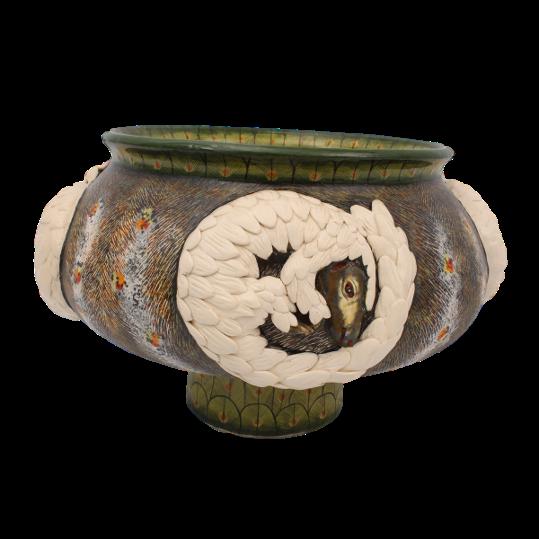 Pangolin Bowl Ardmore Collection
