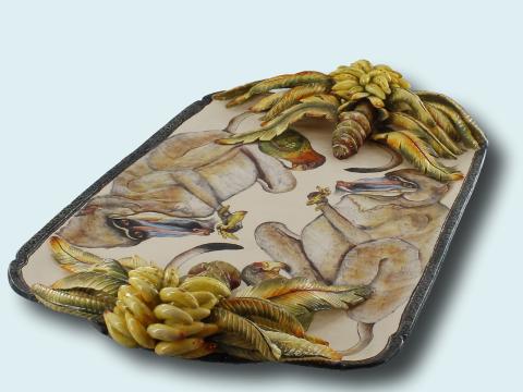 Mandrill Platter