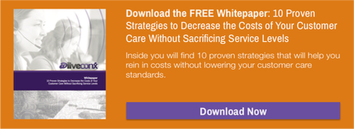 Download the FREE Whitepaper: 10 Proven Strategies to Decrease the Costs of Your Customer Care Without Sacrificing Service Levels