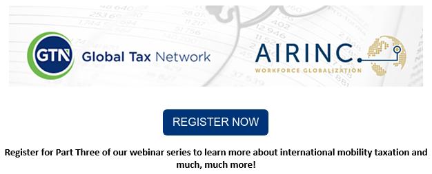 Mobility tax webinar series