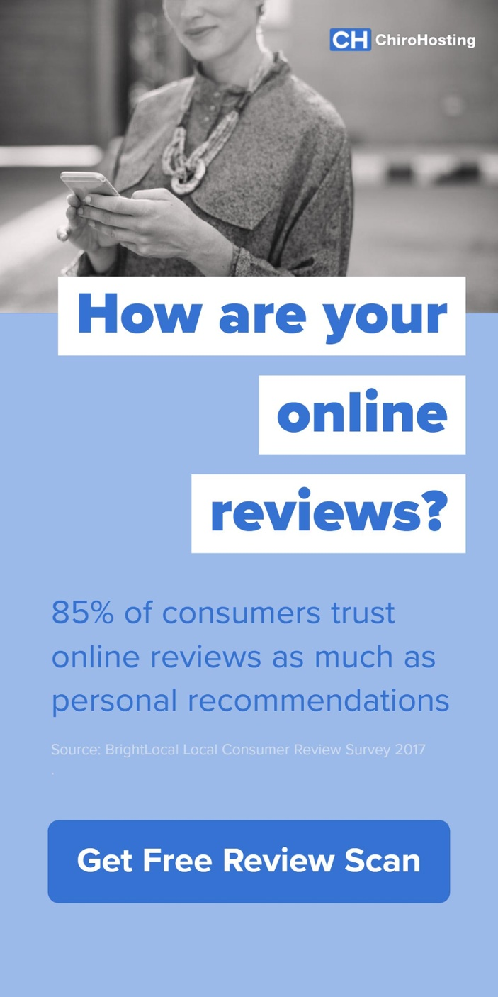 >> Click Here to Get Free Online Review Scan << How are your online reviews? 85% of consumers trust online reviews as much as personal recommendations