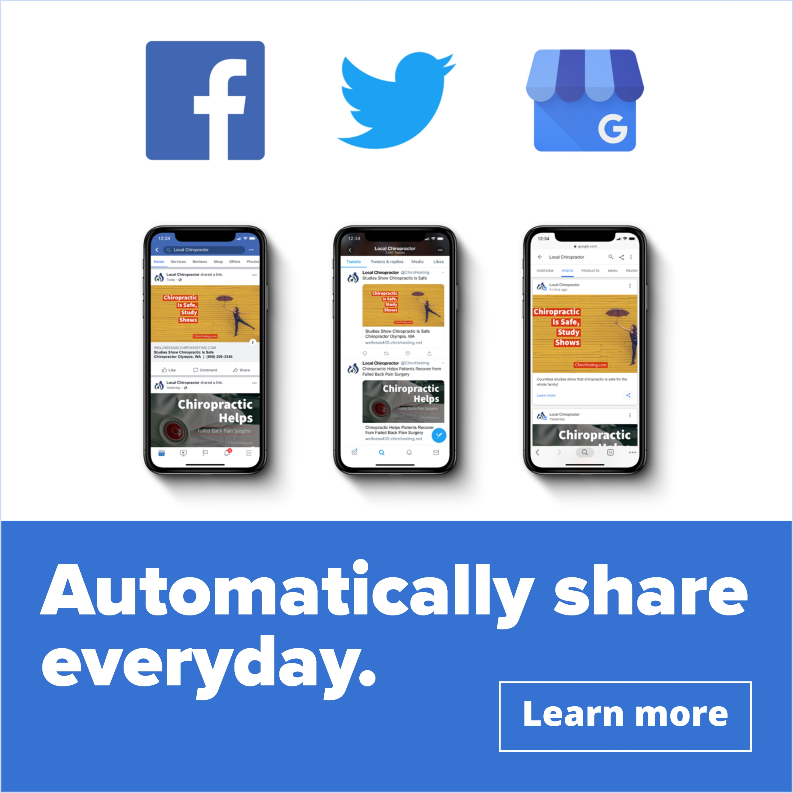 >> Click here to learn more << How can you automatically share on social media everyday?