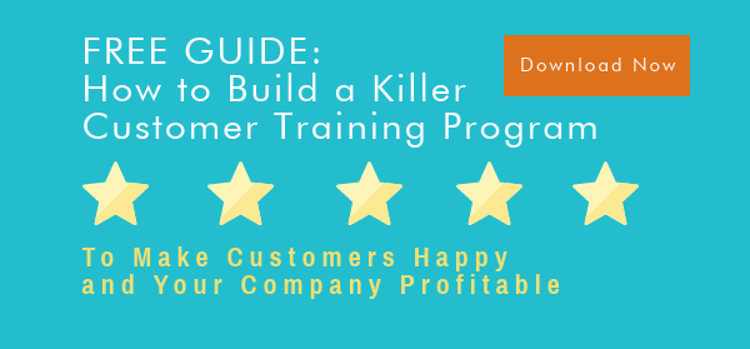 How to Build a Killer Customer Training Program Guide