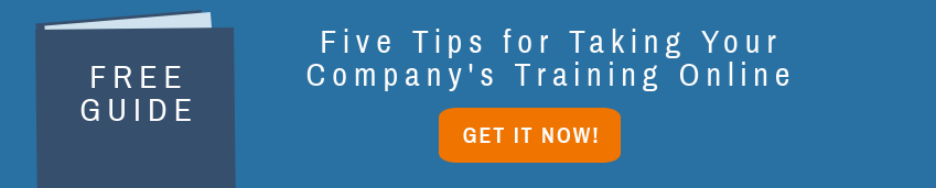 Free Guide for Taking Your Company's Training Online