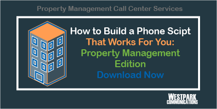 Property Management Call Center Services Phone Script Download Button