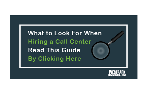 Hiring a Call Center Magnifying Glass Button