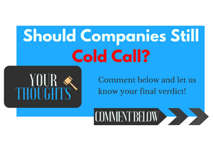 Your Thoughts Cold Call CTA Button