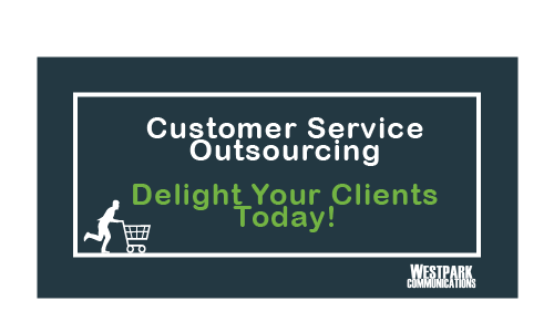 Customer Service Outsourcing Button