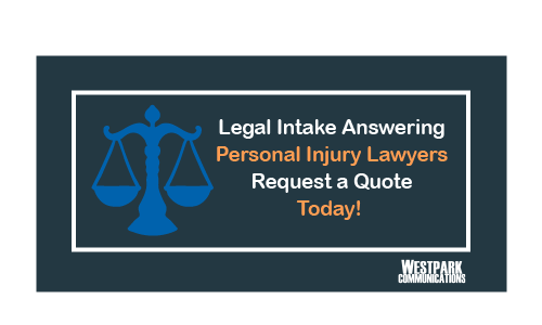 Legal Intake Answering Service CTA Button