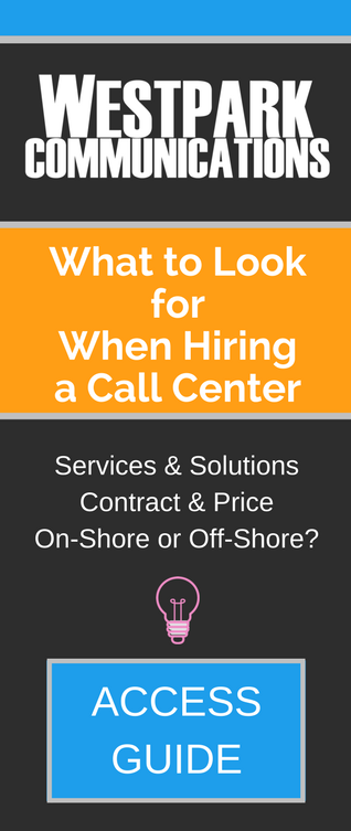 Call-to-action - What to Look for When Hiring a Call Center