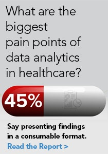 What are the biggest pain points of data analytics in healthcare?