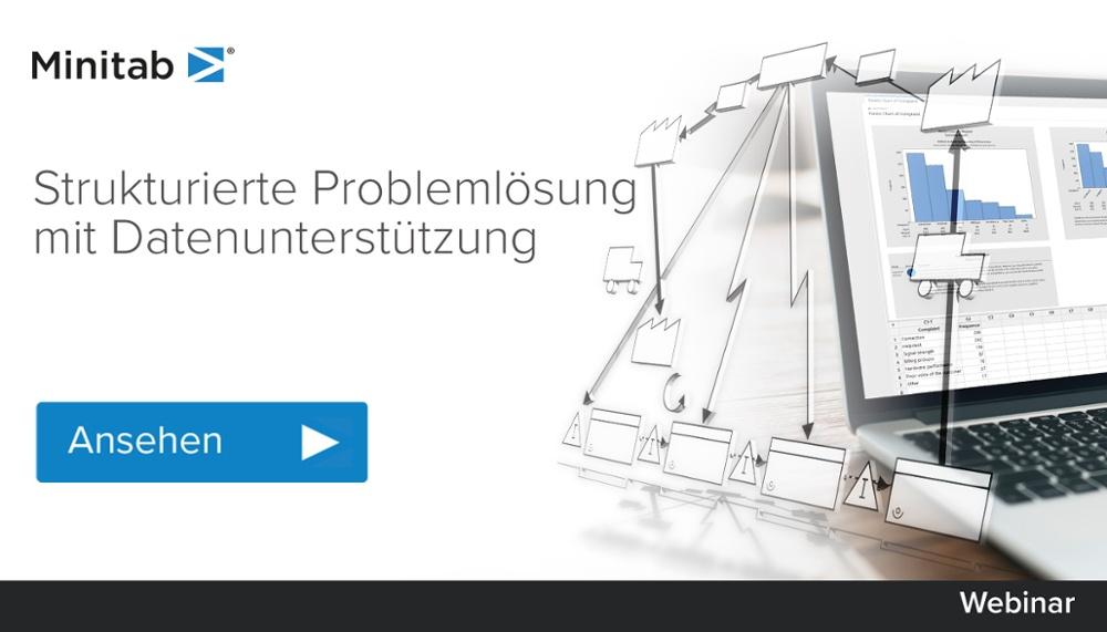 [Webinar] Strukturierte Problemlösung mit Datenunterstützung