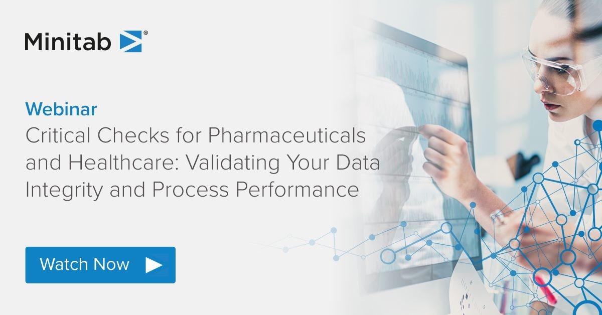 [Webinar] Kritische Prüfungen für Medikamente und das Gesundheitswesen: Datenintegrität und Prozessleistung validieren