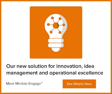 [Webinar] : Einführung in Minitab Engage: Lösung für Ideenfindung und Realisierung von Projekten