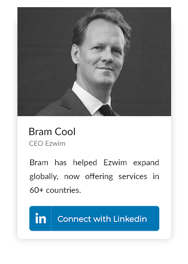 Bram Cool, CEO Ezwim