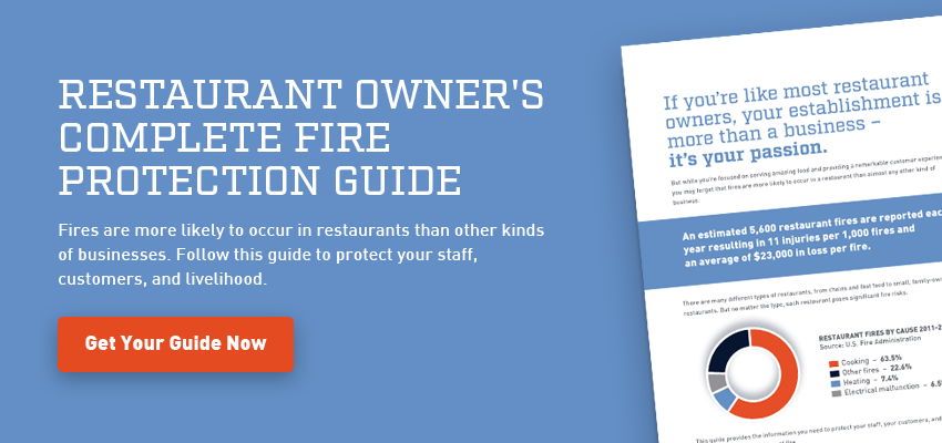 Restaurant owner's complete fire protection guide download now
