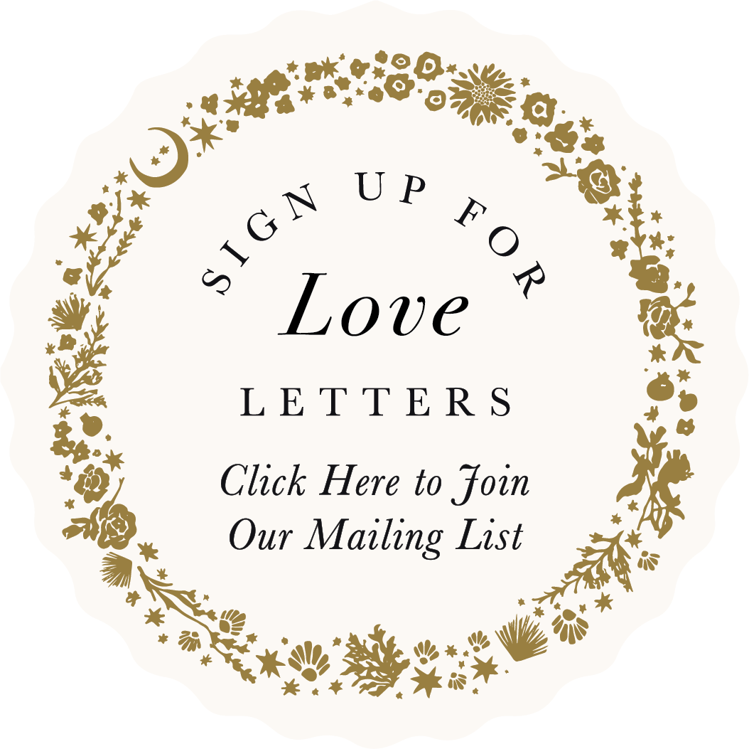 Sign Up For Our Love Letters
