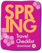 Spring Travel Checklist