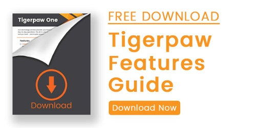 Download this Tigerpaw One Features Guide for an overview of all the tools our robust business automation software offers.