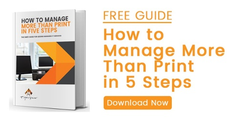 Adding managed IT services can seem daunting. Here's a free guide on how to manage more than print in five steps.